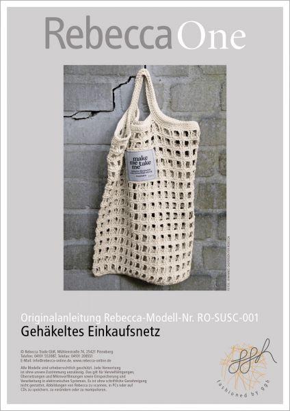 Anleitung - Gehäkeltes Einkaufsnetz