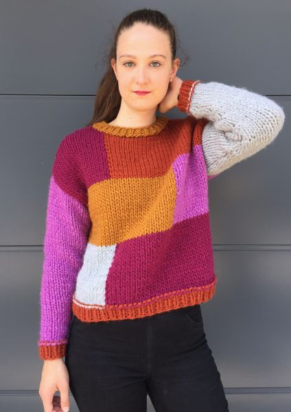 Pullover, Design: Pauline Schwarberg