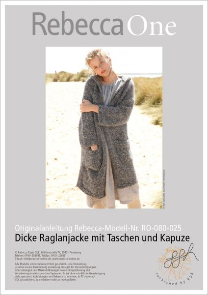 Anleitung - Dicke Raglanjacke