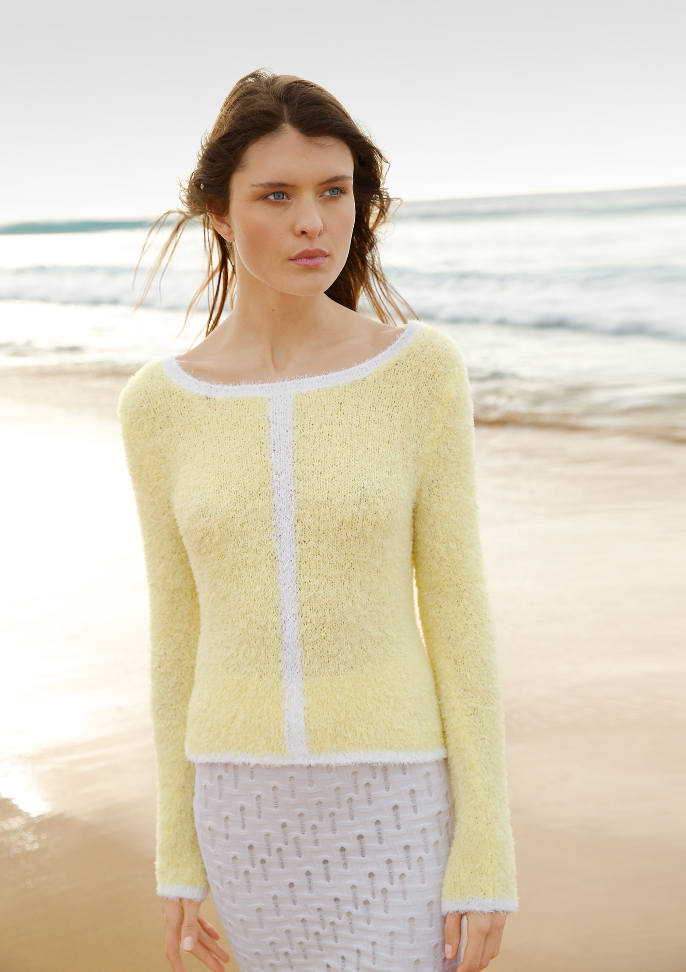 """""""Frottee"""" Pullover"""